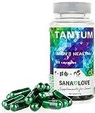 SANA LOVE® -TANTUM - Naturalmente mejor espermatogénesis. Vegano, vegetariano, sin gluten, sin conservantes, sin aromas adicionales, sin frutos secos, no modificado genéticamente,Pack(1x60 cápsulas)