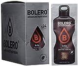Bolero Bebida Instantánea sin Azúcar, Sabor Kola - Paquete de 24 x 9 gr - Total: 216 g