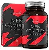 VIBOOST MEN COMPLEX   Fórmula Específica para HOMBRE   Acción SECRETPOWER, VIGOPULSE y ENERTOP   11 ingredientes Súper Concentrados   Con Maca Andina, Zinc, Tribulus Terrestris, Ginseng y Arg