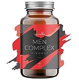 VIBOOST MEN COMPLEX: el Vigorizante masculino que potencia tu resistencia y duración [Maca, Arginina, Ginseng, Tribulus] y da un impulso a tu energía [Zinc]