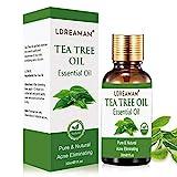 Aceite esencial de árbol de té,aceite de acné natural,El tratamiento para el acné, manchas y problemas de la piel,para la aplicación en pieles con impurezas
