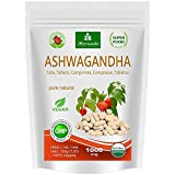 Ashwagandha cápsulas 600 mg o tabletas 1000 mg - producto natural puro en la mejor calidad - cereza de invierno, ginseng indio - 120 tabletas