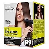 Be Natural Kit de Alisado Brasileño con Keratina, Verd