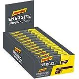 Powerbar Energize Original Cookies & Cream 25x55g-Barra de Alta Energía de Carbono + C2MAX Magnesio y Sod