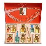 Charrier Parfums Caja Luxe Top Ten De 10 Eau De Parfum En Miniaturas Color Rojo 53 M