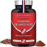 Levadura Roja de Arroz Coenzima Q10 Baja Tu Colesterol Monacolina K CoQ10 Dosis Concentrada Arroz Rojo Puro Monascus Purpureus Tratamiento 3 Meses 600 mg Capsulas Veg