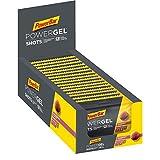PowerBar PowerGel Shots Raspberry 16x60g - Gomas de Alta Energía de Carbono + C2MAX Magnesio y Sod