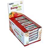 Weider Nature´s Energy Bar Fresa 60g. Barrita energética con un 41% Frutas y 64% de hidratos de carbono. Gran sabor y energía.