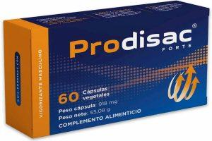 PRODISAC FORTE viagra natural complemento alimenticio potenciador masculino a la venta oferta y comparativa en cienporciennatural 100% natural www.cienporciennatural.es